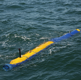General Dynamics, Navy Put Surface Mine Countermeasure UUV Through At-Sea Test - top government contractors - best government contracting event