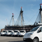 BAE Orders Electric Vans for Portsmouth Naval Base in England - top government contractors - best government contracting event