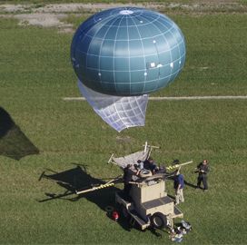 Drone Aviation Installs ISR Equipment on DoD's Tactical Airship Platform - top government contractors - best government contracting event