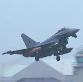 BAE Supports Eurofighter Typhoon Missile Dual Firing Test - top government contractors - best government contracting event