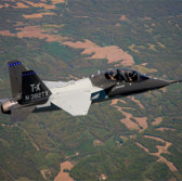 Boeing, Saab Test-Fly 2nd Joint T-X Model Aircraft - top government contractors - best government contracting event