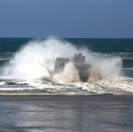 BAE-Iveco Team Bids on Marine Amphibious Combat Vehicle Production Contract - top government contractors - best government contracting event