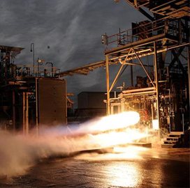 Aerojet Rocketdyne Conducts Hot Fire Tests on 3D-Printed Engine - top government contractors - best government contracting event