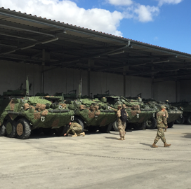 Army Tests Saab-Built Mobile Camouflage System on Fighting Vehicles - top government contractors - best government contracting event