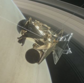 NASA's Cassini Spacecraft With Northrop's Navigation Tool Travels Through Gap Between Saturn, Rings - top government contractors - best government contracting event