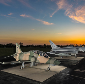 BAE Delivers 1st Eurofighter Typhoon Aircraft to Oman AF - top government contractors - best government contracting event