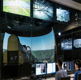 BAE Unveils Cockpit Devt & Military Aircraft Training Facility - top government contractors - best government contracting event