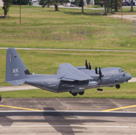L3 Delivers Coast Guard's First HC-130J Aircraft Equipped With New Mission System - top government contractors - best government contracting event