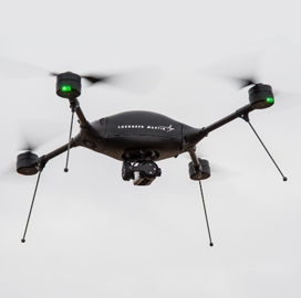 Lockheed to Pair Indago Quadrotor With MyDefence Counter-UAS Platform - top government contractors - best government contracting event