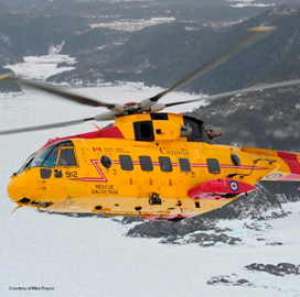 Leonardo, IMP Add CAE, Rockwell Collins, GE to Cormorant Helicopter Upgrade Industry Team - top government contractors - best government contracting event