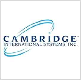 Cambridge International Systems Awarded $343M C5ISR Support Services Task Order - top government contractors - best government contracting event