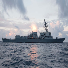 HII Subsidiary Completes Builder's Sea Trials of 'Ralph Johnson' Destroyer Ship - top government contractors - best government contracting event