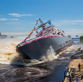 Lockheed-Led Industry Team Launches 15th Navy LCS; Joe North Comments - top government contractors - best government contracting event