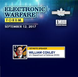 POC Keynote Speaker: Dr. William Conley on the Future of Electronic Warfare - top government contractors - best government contracting event