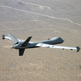 General Atomics MQ-9 UAS Aids in Northern California Firefighting Efforts - top government contractors - best government contracting event