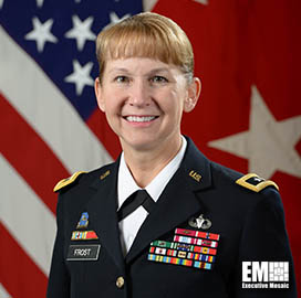 In The News: Maj.-Gen. Patricia A. Frost, Director of Cyber, Office of the Deputy Chief of Staff, U.S. Army G-3/5/7 - top government contractors - best government contracting event