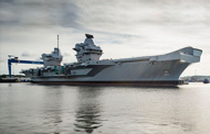 UK Navy Commissions HMS Queen Elizabeth Aircraft Carrier