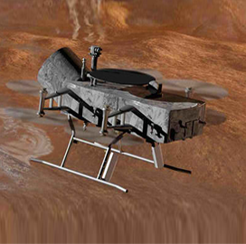Johns Hopkins APL Proposes Quadcopter Concept for NASA's Saturn Moon Exploration Project - top government contractors - best government contracting event