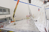 Northrop Integrates Webb Space Telescope Sunshield Layers