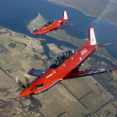 Australian AF Chief Flies Lockheed-Pilatus-Hawker Pacific Trainer Aircraft - top government contractors - best government contracting event