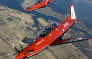 Australia's Chief of Air Force Leads First Flight of Lockheed, Pilatus, Hawker Pacific Training System