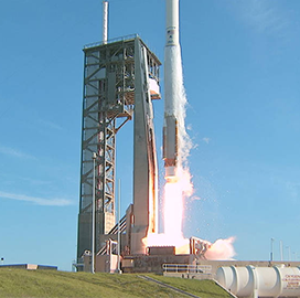 NASA Launches Boeing-Built TDRS-M Comms Satellite Aboard ULA's Atlas V Rocket - top government contractors - best government contracting event