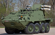 Barry Pike: Army Eyes Stryker as Base Platform for Temporary Short-Range Air Defense System