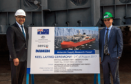 Serco-Led Team Lays Keel for Australia's ASRV Icebreaker