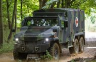 General Dynamics Exhibits Multirole Vehicle for Defense Customers