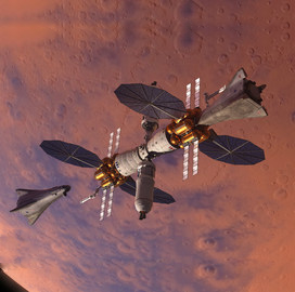 Lockheed Introduces Base Camp Concept to Launch Crewed Mission to Mars - top government contractors - best government contracting event