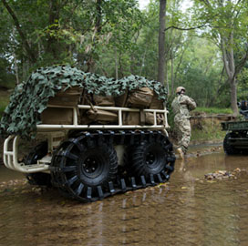 Roboteam Starts Production of Unmanned Logistics Carriers for US, Israeli Govt Customers - top government contractors - best government contracting event