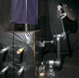 NASA Conducts First Ground Demo of Dragonfly Robotic Self-Assembly System - top government contractors - best government contracting event