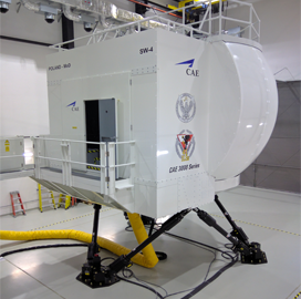 CAE Delivers SW-4 Helicopter Simulator to Polish Air Force - top government contractors - best government contracting event