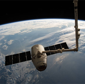 SpaceX Dragon Spacecraft Reaches ISS for 14th Cargo Delivery Mission - top government contractors - best government contracting event