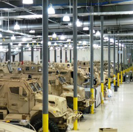 BAE Updates C4I Systems of 5,000th Mine-Resistant Vehicle - top government contractors - best government contracting event
