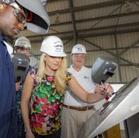 HII Division Authenticates Keel of 12th Navy Amphibious Transport Ship - top government contractors - best government contracting event