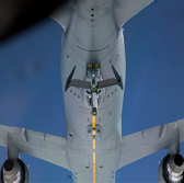 Boeing, Air Force Conduct Airborne Refueling Exercise Between 2 KC-46A Tankers - top government contractors - best government contracting event