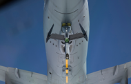 Boeing, Air Force Conduct Airborne Refueling Exercise Between 2 KC-46A Tankers