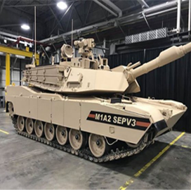 General Dynamics Rolls Out 1st Army SEP V3 Main Battle Tank - top government contractors - best government contracting event