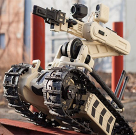 Roboteam Launches 'Interoperable' UGV at AUSA 2017; Shahar Abuhazira Comments - top government contractors - best government contracting event