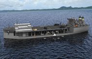 Navy, General Dynamics to Christen 2nd Expeditionary Sea Base Vessel