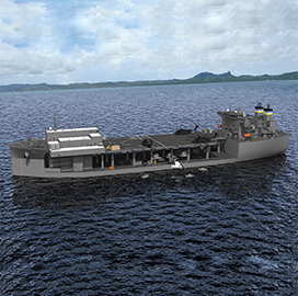 Navy, General Dynamics to Christen 2nd Expeditionary Sea Base Vessel - top government contractors - best government contracting event