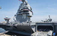 Huntington Ingalls Gets Navy Funds to Plan USS Ford Post-Shakedown Availability