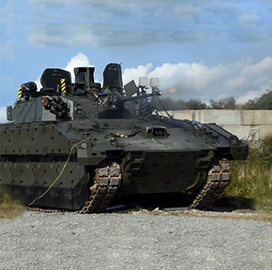 Lockheed Puts UK Fighting Vehicle Turret System Through Live-Fire Test - top government contractors - best government contracting event