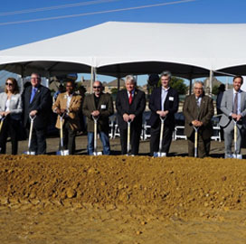 CyrusOne Kicks Off Texas Data Center Construction - top government contractors - best government contracting event