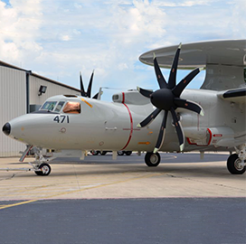 Navy Taps Northrop Grumman to Support E-2D Trainer Development for Japan - top government contractors - best government contracting event