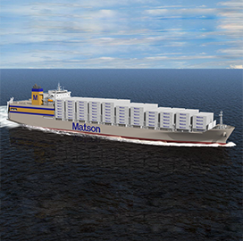 General Dynamics NASSCO Starts Construction of Matson Containership - top government contractors - best government contracting event