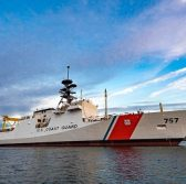 Huntington Ingalls Launches USCG's 8th Natl Security Cutter - top government contractors - best government contracting event