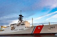 Huntington Ingalls Launches USCG's 8th Natl Security Cutter