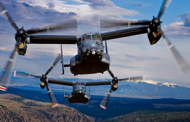 Bell Boeing-Built Osprey Fleet Surpasses 400K Flight Hours